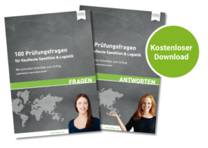 Cover 100 Prüfungsfragen Abschlussprüfung Spedition und Logistikdienstleistung
